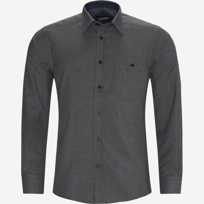 Panama Shirt - Skjortor - Regular - Grå